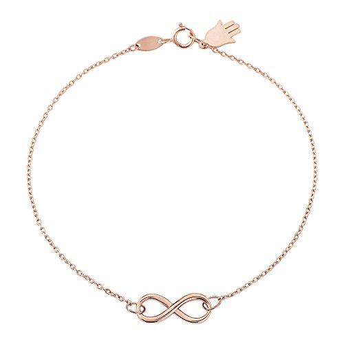 9ct-rose-gold-infinity-bracelet