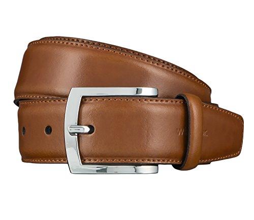 Windsor. Gürtel Herrengürtel Ledergürtel Cognac 4465, Farbe:Braun, Länge:110 cm