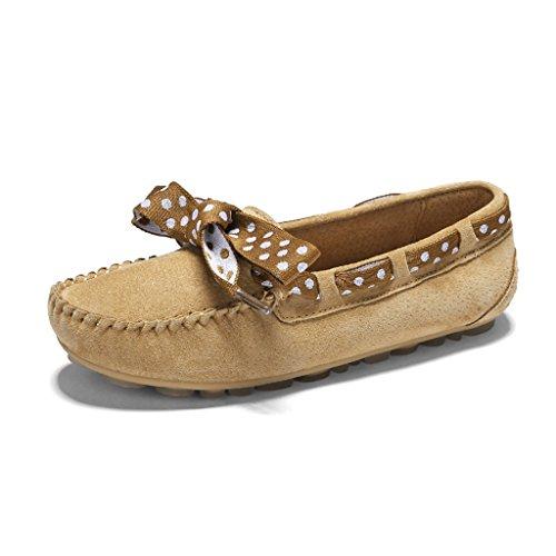 HWF Chaussures femme Printemps Pois Chaussures Plat Shallow Mouth Simple Paresseux Chaussures A Pédale Chaussures Casual Femmes Chaussures ( Couleur : D , taille : 36 ) D