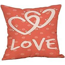 Cojines pillow Fundas Protectores Cojines y accesorios Decoración del hogar Hogar y cocina,Happy Valentine