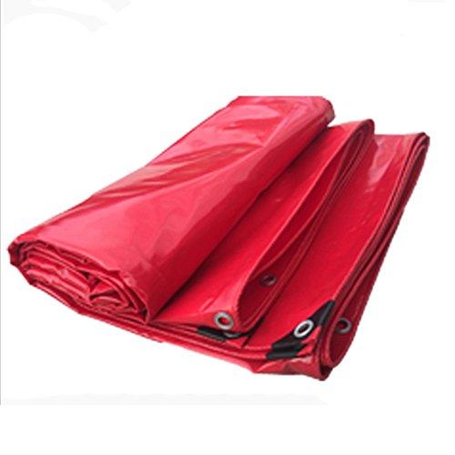 LI MING SHOP-Tents Zelte Outdoor Outdoor Markise Stoff LKW Segeltuch Wasserdicht Plane rot regendicht Wasserdicht Ölfest dick Stoff 0,42 mm -530 g / M2 ++