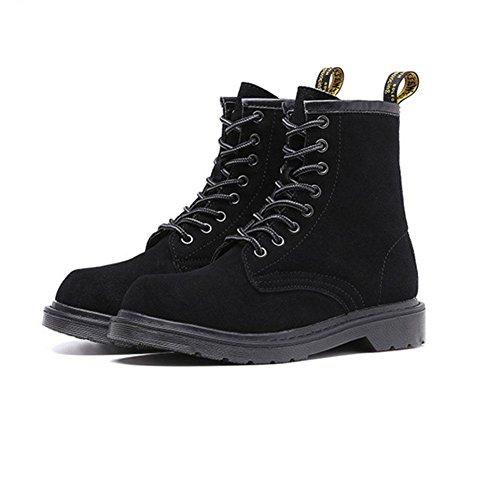 Bottes D'hiver Chaudes Pour Femmes Chaussures De Randonnée Décontractées Antidérapantes, 41, Noir 38