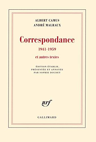 Correspondance (1941-1959) et autres textes: 1941-1959