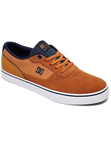 DC Shoes Switch S - Chaussures de Skate Pour Homme ADYS300104 Blanc - Tan