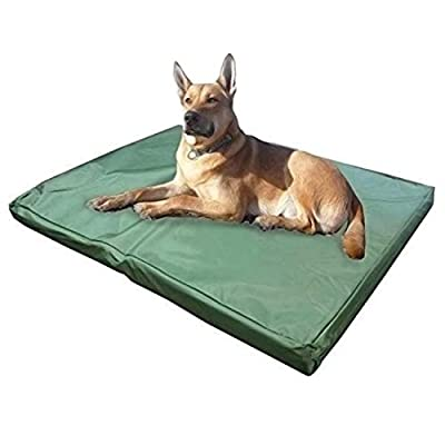 ADOV Dog Beds, Double-sided Waterproof Pet Bed, Durable Oxford Washable Cover Orthopaedic Memory Foam Mat, Cushion Mattress for Dogs, Cats, Other Small and Big Pets - Large - Medium from ADOV