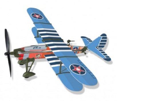 Lyonaeec CR 32 Doppeldecker-Gummiband betriebene Modell Geschichte Flugzeug Kit 22.004 G4 G4-kit