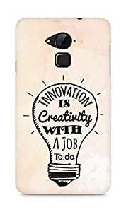 Amez Innovation is Creativity with a Job to do Back Cover For Coolpad Note 3