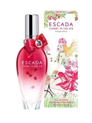Cherry In The Air pour femme par Escada – 50 ml Eau de Toilette Spray