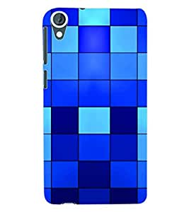 ColourCraft Pattern Back Case Cover for HTC DESIRE 820