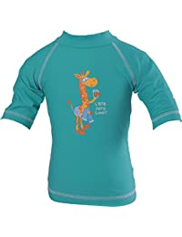 Piwapee - Top Lycra Anti UV UPF50+ Emeraude Girafe