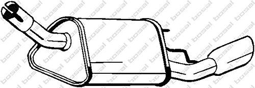 Bosal 185-343 Piezas de Montaje