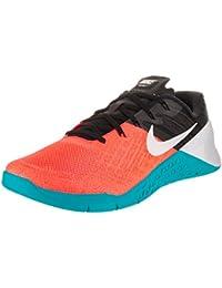 Zapatillas de entrenamiento Nike Metcon 3 Hyper naranja / blanco negro para hombre 13 hombres US