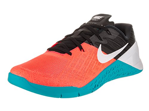 Preisvergleich Produktbild NIKE Men's Metcon 3 Hyper Orange/White Black Training Shoe 11.5 Men US