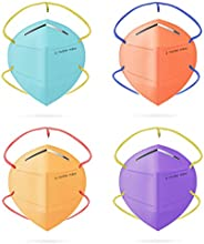 Nasher Miles N95 5-layer Color Face Mask, Reusable,Washable, Head Strapped, SITRA/CE/ISO Approved, Anti Pollut
