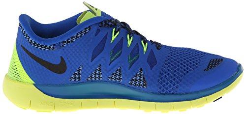 Nike Free 5.0 (Gs) Sneakers, Bambini E Ragazzi Blu (Blau (Hyper Cobalt/Black/Midnight Navy/Pht))