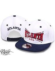 """Midi Shopping - Casquette Snapback Pas Cher Cap Hat Flatbrim """"Atlanta"""" CAP 46ATL"""