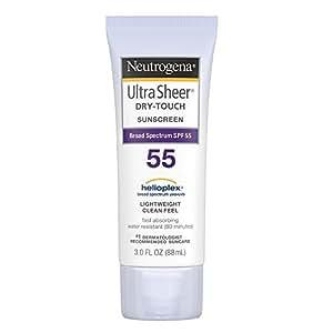 Neutrogena Ultra Sheer Dry Touch Sunblock SPF 50+, 88 ml (Pack of 2)