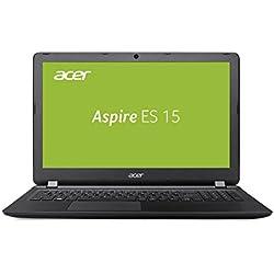 Acer Aspire ES 15 (ES1-523-8564) 39,62 cm (15,6 Zoll, HD matt) (AMD A8-7410, 4 GB RAM, 1.000 GB HDD, AMD Radeon R5, Win 10) schwarz