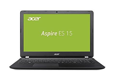 Acer Aspire ES 15 (ES1-523-81GW) 39,6 cm (15,6 Zoll Full-HD matt) Notebook (AMD A8-7410, 8GB RAM, 256GB SSD, Radeon R5, Win 10) schwarz