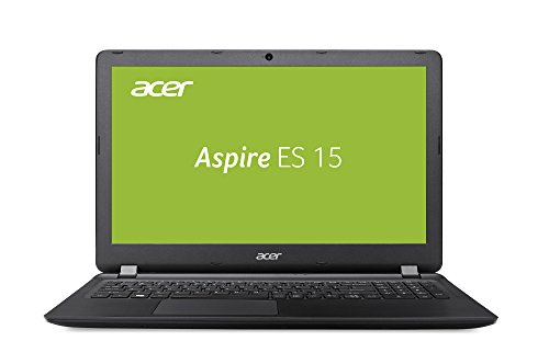 Acer Aspire ES 15 (ES1-523-8564) 39,6 cm (15,6 Zoll HD matt) Notebook (AMD A8-7410, 4GB RAM, 1000GB HDD, AMD Radeon R5, USB 3.0, HDMI, Win 10) schwarz