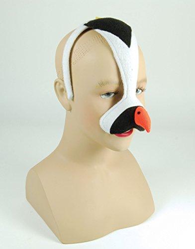 Pinguin (H/B) Maskenball-maske Zubehör für Tier Vogel See Kostüm Maskenball-Maske