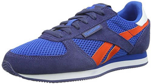 Reebok Classic Jogger, Baskets Basses Mixte Adulte Bleu - Blau (Blue Sport/Midnight Blue/Energy Orange/White)
