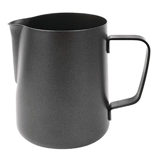 Olympia Cm607antiadhésif Pot à lait, 20g, Noir