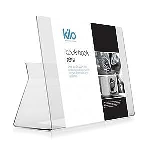 Acrylic Cookbook Stand