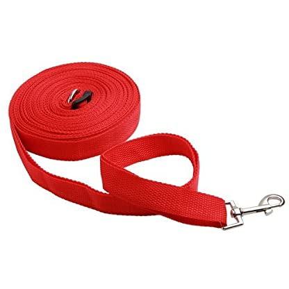 Katomi Dog Pet Puppy Training Obedience Lead Leash (1.8m*2cm, red) 3