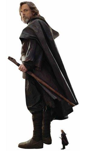 n Luke Skywalker (Star Wars: Die letzten Jedi) Ausschnitt, Mehrfarbig (Star Wars Karton Ausschnitte)
