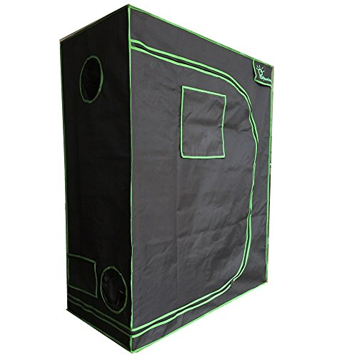 Hyindoor120*60 * 150CM Grow Tent Garden Hydroponics Grow Room Indoor Greenhouse(48 * 24 * 60 Inches)