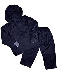 enfants Pantalon imperméable à l'eau et Veste Ensemble idéal pour camping 3-4 5-6 7-8 et 9-10