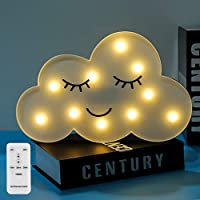 Unicorn Light Changeable Night Lights Colors & Remote Control Battery Operated Marquee Sign Led Lamps Wall Decoration for Living Room Home Bedroom Christmas Party as Kids Gift Toys
