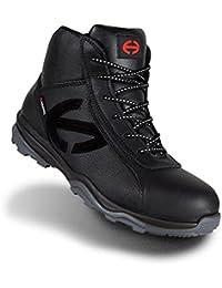 DDTX Zapatos de Seguridad de Plástico Toe Con Placa de Kevlar Lightweight Unisex-adulto Negro(37.5)