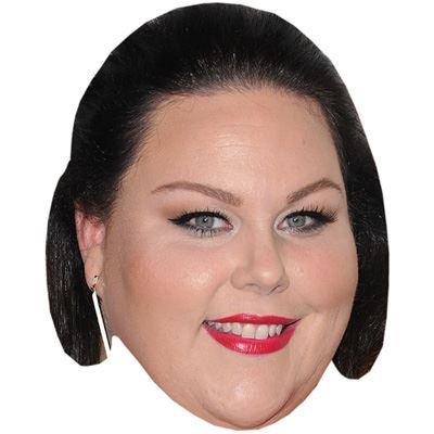 Chrissy Metz Maske aus Pappe (Barbara Erwachsene Maske)