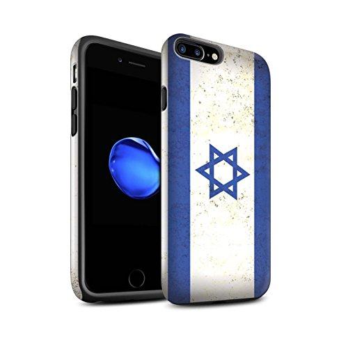 STUFF4 Glanz Harten Stoßfest Hülle / Case für Apple iPhone 8 Plus / Kuwait Muster / Asien Flagge Kollektion Israel/Israelisch