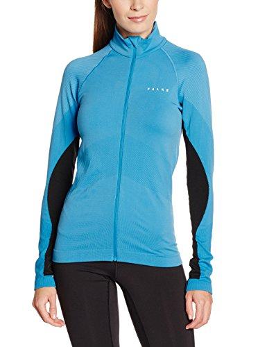 FALKE Damen Laufbekleidung Running Full Zip Shirt Longsleeve