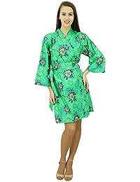Amoghah Mujeres Color Verde Que Haga Cortocircuito Del Algodón Del Traje De Dama Trajes De Encubrimiento