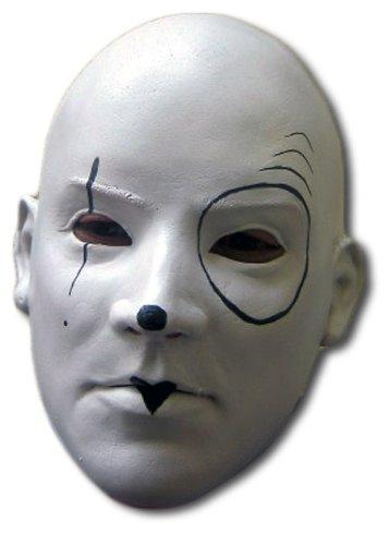 Pierrot Maske (Pierrot Maske Schwarze Weiße Und)
