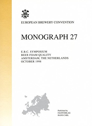 E.B.C. Symposium Beer Foam Quality, Amsterdam, The Netherlands, October 1998
