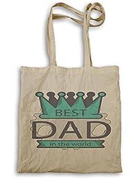 El día de padre te amo papá bigote divertido bolso de mano d578r