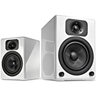 Wavemaster TWO BT Stereo Regal-Lautsprecher mit Bluetooth-Audio-Streaming/aptX weiß
