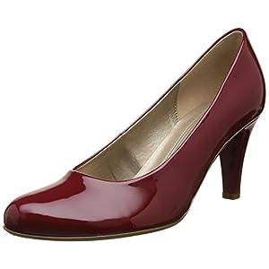 Gabor Shoes 55.210 Damen Pumps, Rot (cherry (+Absatz) 75), 38 EU (5 Damen UK)