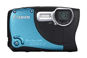 Canon Powershot D20 HS Waterproof Digital Camera - Blue (12.1 MP, 5x Optical Zoom) 3.0 Inch LCD
