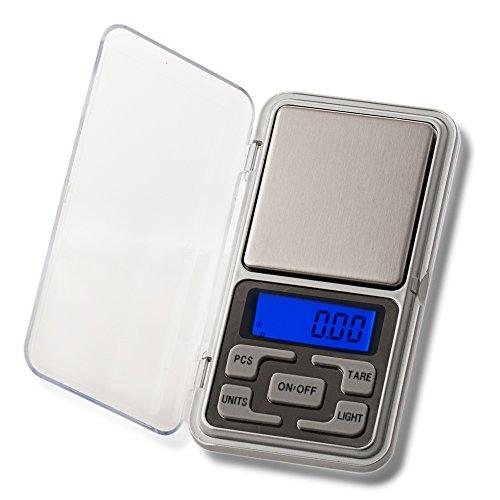 Digitale Feinwaage Taschenwaage bis 500g Auflösung 0,01 Waage 0.01 Goldwaage Briefwaage Digital