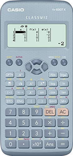 Casio Fx-83gtx Scientific Calculator Blue