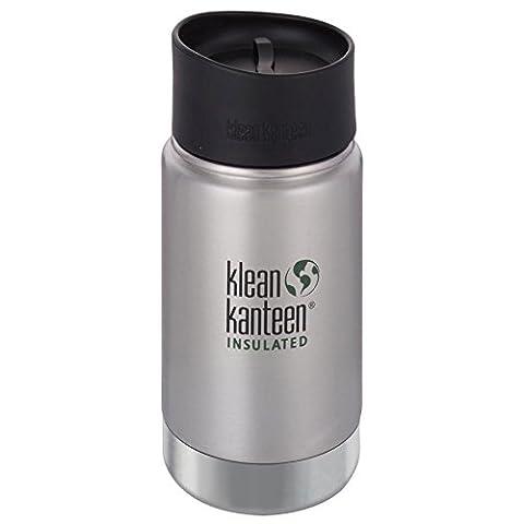 Klean Kanteen Edelstahlflasche mit Cafe Verschluss 355 ml Vakuum Insulated