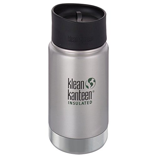 Klean Kanteen 1000594 Gourde Isotherme Mixte Adulte, Brushed Stainless, 355 ML
