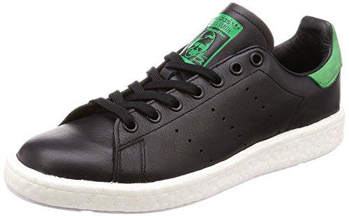 adidas Stan Smith Boost BB0009 Herren Schuhe Sneaker Leder Männer Schuhe Sportschuhe Glattleder Core Black/Green