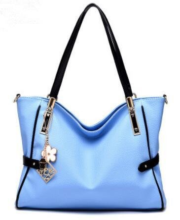 HQYSS Damen-handtaschen Flut Cool Cemeanor atmosphärischen Mode PU Leder Frauen Schulter Handtasche Messenger days blue